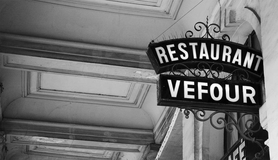 Ресторан Le Grand Vefour, Париж, Франция, Европа