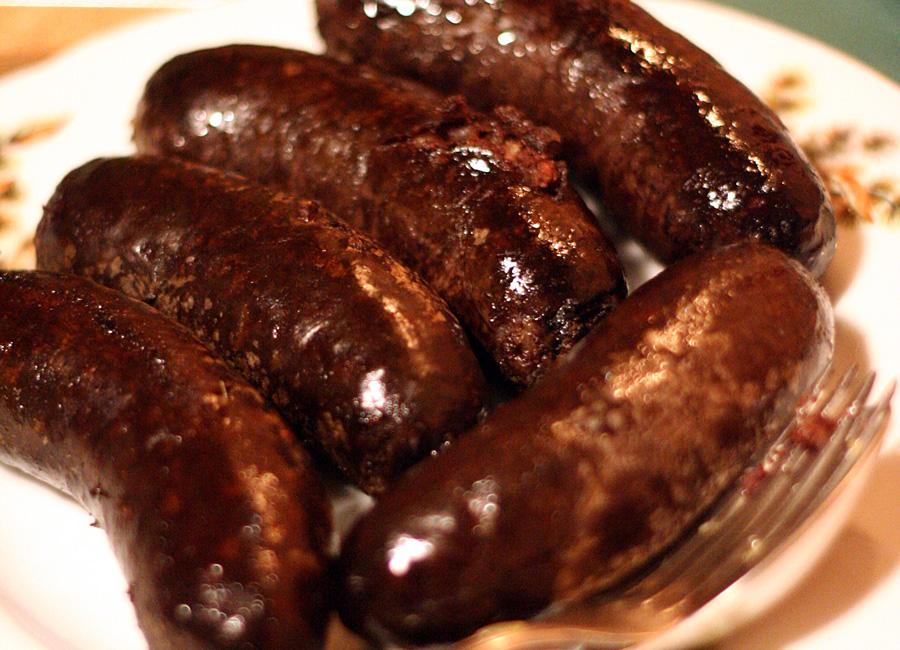 Кровяная колбаса веревёрст, Эстония, Европа
