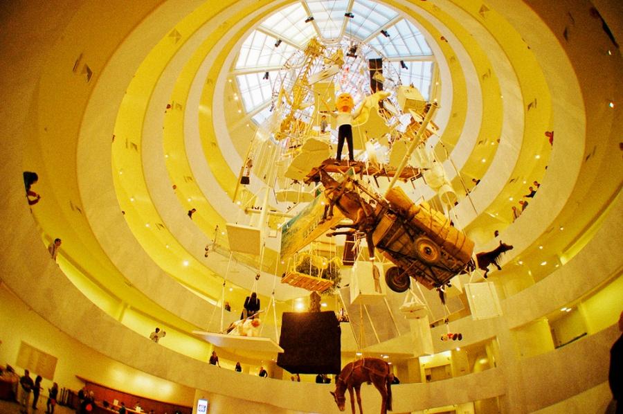 Музей Гуггенхайма, Нью-Йорк, США, Северная Америка и Карибы