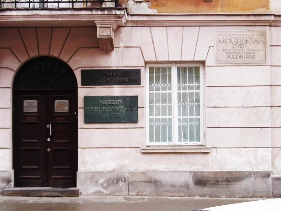 Дом-музей Марии Склодовской-Кюри, Варшава, Польша, Европа