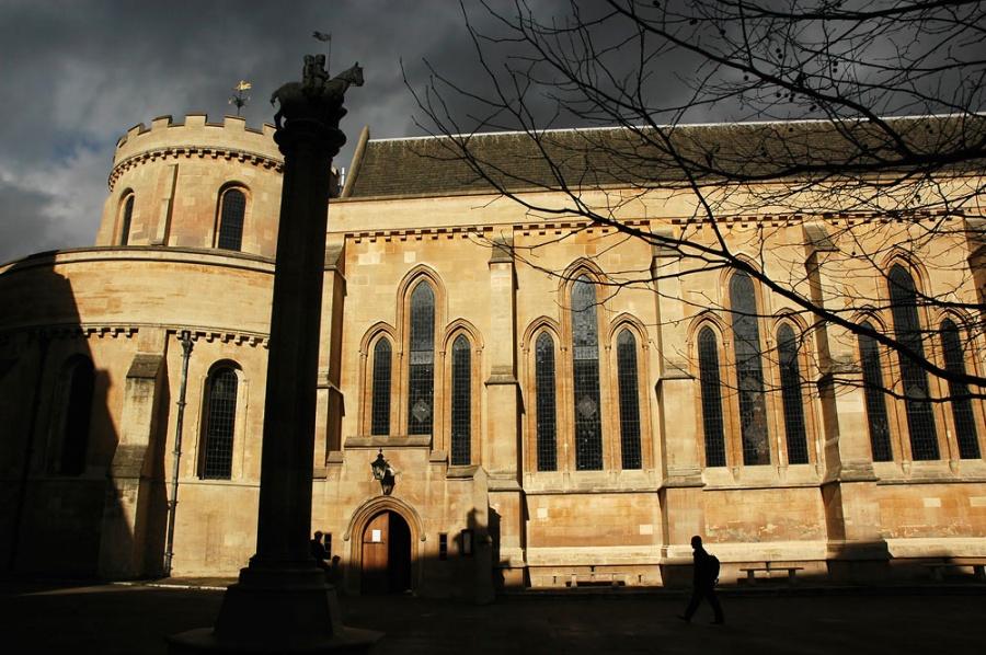 Церковь Темпла, Лондон, Великобритания, Европа